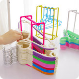 Creativo appendiabiti Storage Rack multifunzionale molletta Oraganizer Holder