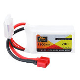 ZOP Power 11.1V 1300MAH 20C 3S Lipo Battery T Plug for RC Car