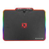 350*2503.6mm Acrylic Aluminum Alloy USB Wired RGB Backlit Hard Mouse Pad