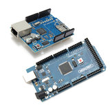 MEGA 2560 R3 Development Board MEGA2560 With Ethernet Shield W5100 Geekcreit for Arduino - products that work with official Arduino boards