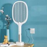 2-em-1 mata-moscas elétrico mosquito USB recarregável portátil matando mosquito inseto mosca Zapper