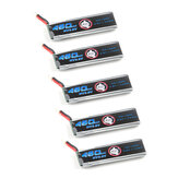 5X Eachine 3.8V 460mAh 50C/100C 1S Lipo Battery 60*18*7mm PH2.0 Output for Novice-II FPV Racing Drone