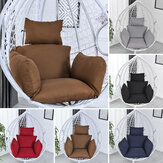 Hanging Egg Hammock Cradle  Chair Cushion Swing Seat Thick Nest Hanging Chair Back with Pillow