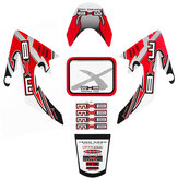 Motorfiets 3D Sticker Decals Voor Honda CRF50 Little Flying Eagle Protector