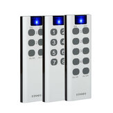 KTNNKG 433MHz Wireless Remote Control For Smart Home Electric Door and Window 1 2 4 6 8 10 Key Remote Control