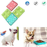 4PCS Pet Bowls Combinatie Dog Licking Tray Dog Anti-sucking Funny Bowl Pet Slow Food Interactive Puzzle Pet Toy