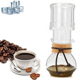 400ml Elegant Dutch Cold Brew Water Ice Drip Coffee Maker Glass Pot For 2 Cups Coffee Machine
