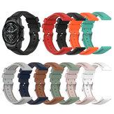 22mm Soft Silikonarmband Band Ersatz-Sportarmband-Armband für Ticwatch Pro3 / LTE Haylou Solar LS05 BW-HL3 AT1