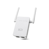 300 Mbps 802.11 Double Antennes Sans Fil Wifi Range Repeater Booster AP Routeur UK Plug
