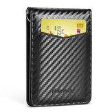 NewBring بطاقة حامل RFID كتلة رخصة القيادة النقدية بطاقة حامل محفظة المال كليب الائتمان الأعمال بطاقةholder