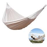 Çift Kişilik Maksimum Yük 120kg Pamuk Hamak Kampçılık Bahçe Plaj Seyahat Salıncak Asılı Sandalye Maksimum Yük 120kg