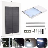 Solar Powered 15LED al aire libre Impermeable Pared de seguridad de control de luz Lámpara