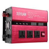 DC 12V / 24V Ke AC 220V / 110V Solar Power Inverter 8000W Peak LED Power Sine Wave Converter