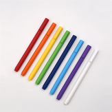 Xiaomi KACO Colorful Gel Pens 0.5mm Pen Refill 8Pcs/Pack Signing Pens For Student School Office