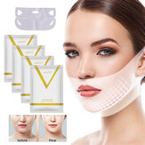 Face Lift Slimming Mask V Line Chin Up Patch 4D Reduce Double Chin Tape Neck Firming Shape Mask