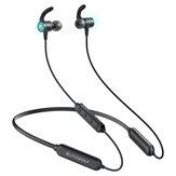 BlitzWolf® BW-FLB1 bluetooth 5.0 Fone de ouvido sem fio Faixa de pescoço Modo de baixa latência Fone de ouvido para jogos Fone de ouvido estéreo baixo esporte com microfone