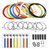 BIKIGHT2мМногоцветныйвелосипедныйвелосипед Передний задний внутренний наружный Провод Тормозной кабель для кабеля Велоспорт Набор