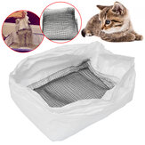10pcs Cat DisposableToilet Litter Tray Box Liners Pet poop Bags 7x26cm