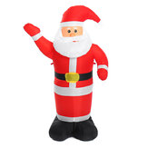 1.2m Christmas Decor Luminous Inflatable Waving Santa Claus Lights for Home Garden Outdoor Christmas Decoration