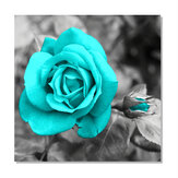 Blue Rose Canvas Painting Wall Decorative Print Art Pictures Unframed Wall Hanging Home Office Wall Decorations