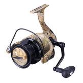 ZANLURE AFS5000-8000 All Metal 4.9 / 4.1: 1 13BB Moulinet de pêche Carbon Drag Roue de rotation d'eau douce