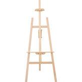 Cavalletto per treppiede Transon MCHJ145 Cavalletto in legno regolabile in altezza 1.45m Cavalletto per tavola in pino giallo Display Stand Art for Painting Drawing