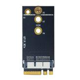 Placa de rede WTXUP Apple para NGFF M2 Placa adaptadora Placa WiFi bluetooth para NGFF M2 Adaptador para BCM94360CS2 BCM94360 BCM943224