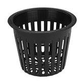10Pcs Black Mesh Net Hydroponic Aeroponic Flower Container Растение Grow Pot Cup Растениеing Корзины