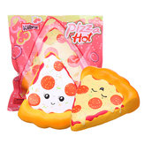 Kiibru Pizza Squishy 14.5*13.5*5cm Slow Rising Soft Toy With Original Packing