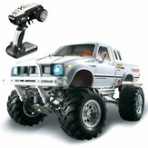 HG P407 1/10 2.4G 4WD Rc Auto voor TOYATO Metal 4X4 Pick-up Rock Crawler RTR Toy