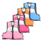 Child Kids Baby Buoyancy Aid Swimming Floating Life Jacket Vest 4 Color Size S