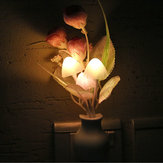 Tulip LED Dimming Night Light 7 Colors Changing Artificial Tulip Light Control Home Wall Decor
