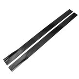 86.6'' Carbon Black Car Side Skirt Sideskirts Extension For LEXUS IS200T IS250 IS350