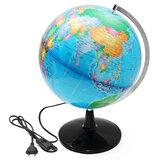 32cmイルミネーションワールドグローブ地理地上テルルグローブ電灯LEDライト