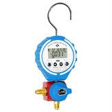 DBF-L-03L दबाव नापने का यंत्र प्रशीतन डिजिटल कई गुना परीक्षक वैक्यूम दबाव मीटर HVAC तापमान परीक्षक Freon दबा