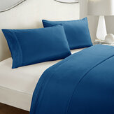 3/4 Peices Polyester Bedding Set Wrinkle Fade Stain Resistant Hypoallergenic Quilt Cover Set