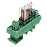 TKG2R-101 1 Channel Relay Module PLC Amplification Board Controller With Indicator LightDC 12V