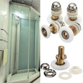 25/27mm Replacement Brass Bathroom Shower Door Roller Runner Glass Sliding Door Wheel Pulley