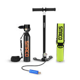 SMACO S300+ F Set 500ML Oxygen Cylinder Diving Equipment Set Multicolor