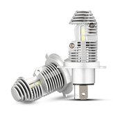 NovSight N36 2PCS H4 12V 40W 8000LM 6000K LED Farol para motocicleta Lâmpadas para automóveis Hi lo lamp Farol de nevoeiro