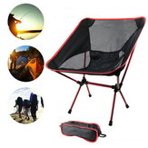 IPRee® Ultralight Folding Chair Superhard Outdoor Camping Chair Portable Beach Hiking Picnic Seat Fishing Tools Max Load 150kg