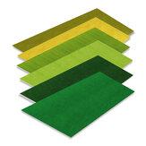 Çim Mat Yapay Çim Halı Mimari El Yapımı Sahne Modeli Düzeni Kum için Tablo Aletler