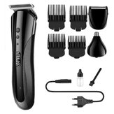 KEMEI KM-1407 Hair Clipper Electric Shaver Razor Nose Hair Trimmer Cordless Men Barber Tool