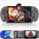 X9 PLUS 16GB 10000+ Games 5.1 inch HD Scherm 128-Bit Retro Handheld Game Console Game Player Ondersteuning GBA NES