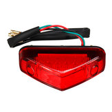 Universal DC 12V RED 12 LED Moto ATV Dirt Bike Brake Stop Running Luz trasera