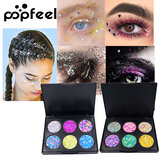POPFEEL 6-Color Children's Stage Performance Eye Shadow