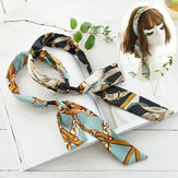 Bohemian Temperament Satin Streamer Headband Bow Tie Headband