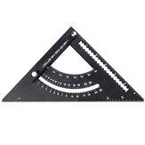 Alumínium ötvözet szög vonalzó mérőeszköz vastagságú mérő vonalzó mitre asztalos tér famegmunkáláshoz