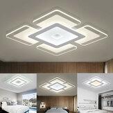 110-220V 15W Modern LED Ceiling Light Acrylic Round Home Living Room Bedroom Decor Lamp