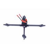 Fonster Kpro200 5-calowy rozstaw osi 200 mm 5 mm ramię z włókna węglowego typu X zestaw ramy wyścigowej FPV do drona RC 20 * 20 mm / 30,5 * 30,5 mm